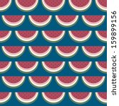 retro style seamless pattern... | Shutterstock .eps vector #159899156