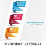 infographic templated with... | Shutterstock .eps vector #159900116