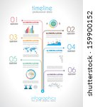 timeline to display your data... | Shutterstock . vector #159900152