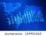abstract stock market finance... | Shutterstock . vector #159901565
