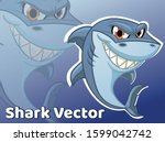 Shark Illustration Shark Vector ...