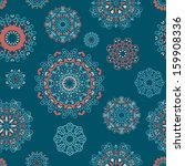 vector seamless pattern with... | Shutterstock .eps vector #159908336