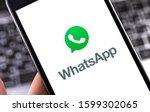 Whatsapp Logo On The Screen...