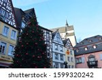 Old Town Cochem With Christmas...
