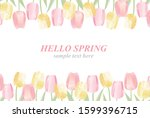 illustration set of beautiful... | Shutterstock .eps vector #1599396715