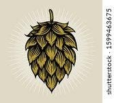 Beer Hop Illustration In...