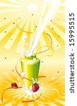 yoghurt for energy | Shutterstock .eps vector #15995515
