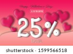 discounts for valentine's day ...   Shutterstock . vector #1599566518