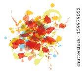 watercolor splash | Shutterstock .eps vector #159979052