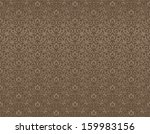 seamless ornament brown color... | Shutterstock .eps vector #159983156