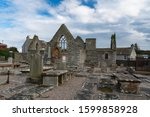 Thurso, Scotland - August 27, 2019: Old St. Peter