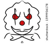 Aggressive  Scary Smiling Clown ...