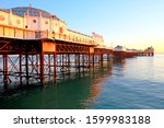 Brighton Pier  Jutting Out Ove...