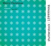christmas background. pattern... | Shutterstock .eps vector #159999446