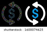 bright mesh refresh price icon... | Shutterstock .eps vector #1600074625