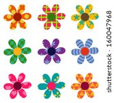 vector set with different... | Shutterstock .eps vector #160047968