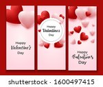 valentine's day vertical...   Shutterstock .eps vector #1600497415