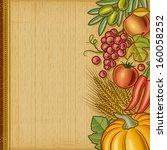 Retro Harvest Background. Eps10 ...