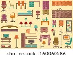 seamless background on a... | Shutterstock .eps vector #160060586