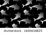 whales  whale shark fishes... | Shutterstock .eps vector #1600618825