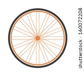 bicycle wheel | Shutterstock .eps vector #160072208
