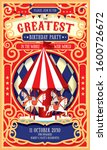Vintage Circus Carousel...