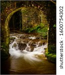 Small Stream Cascade Into A...