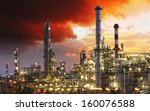 oil indutry refinery   factory... | Shutterstock . vector #160076588