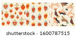 mexican sacred hearts ... | Shutterstock .eps vector #1600787515