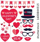 valentines day vector vector... | Shutterstock .eps vector #1600844515