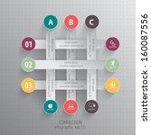 modern presentation of data  ... | Shutterstock .eps vector #160087556