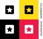 star icon illustration isolated ...