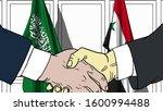 businessmen or politicians... | Shutterstock . vector #1600994488