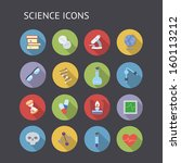 flat icons for education ...