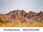 The Landscape In Badlands...