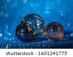 Marbles Lighting Of Blue Stars