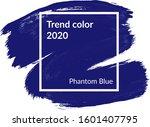 Phantom Blue Color Of The 2020...