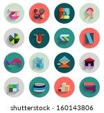 vector set of geometric...