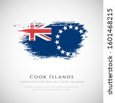 cook islands brush flag with... | Shutterstock .eps vector #1601468215