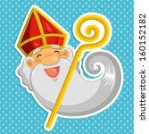 Cartoon Sinterklaas  St....