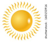 sun vector symbol  graphics or...