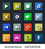 app,arrow,audio,background,backward,color,colorful,control,design,element,equalizer,flat,forward,headphones,icon
