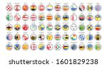 set of vector icons.... | Shutterstock .eps vector #1601829238