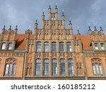 Stock photo old town hall in hanover built in now the seat of the registry office lower saxony germany 160185212