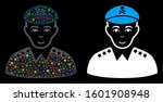 flare mesh evil army general... | Shutterstock .eps vector #1601908948