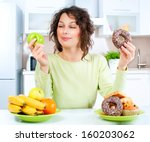 Diet. Dieting Concept. Healthy...