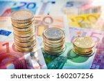 chart euro   rise up   Shutterstock . vector #160207256