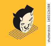 Isometric Mask Of The Devil...