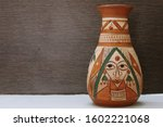 Clay Vase Handcrafted Earthern...