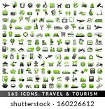 165 bicolor  green and gray ... | Shutterstock .eps vector #160226612